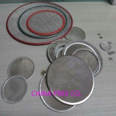 wire mesh disc - filter disc