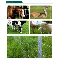 Cattle fence for breeding cattle, sheep and horse
