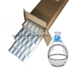 40inch X 300ft Clear cello rolls for gift basket packing