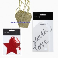 Gift tag  Message card