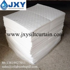 Dimpled and Perforated Oil Absorbent Pads