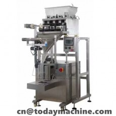 Grain/Snack/Bean Packaging Machine with Multi Head Weigher