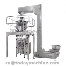 Automatic Weighing Food Frozen Chicken Feet Lobster Packaging Machine