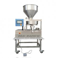 Granule/Powder Filler with Volumetric Cup System