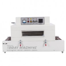 Shrink Film Wrapper/Hot tunnel shrinking machine packaging table ware
