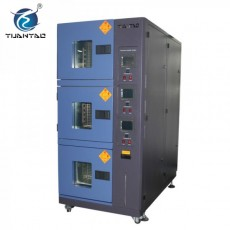Three Zones Constant Temperature Humidity Environmental Tester Chamber
